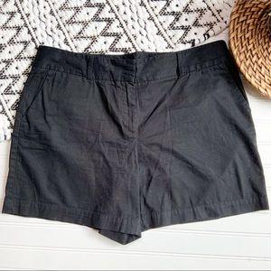 LOFT Black Classic Shorts